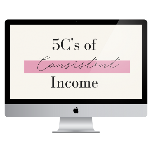 5cs of consistent income