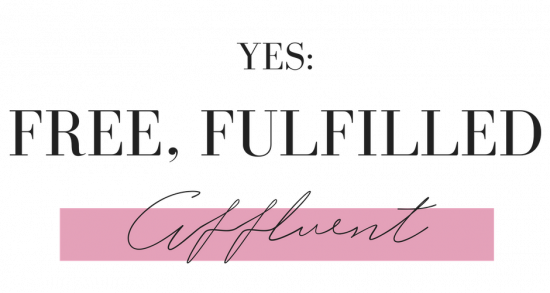 FREE, FULFILLED AFFLUENT LOGO