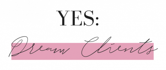 yes dream clients- the logo