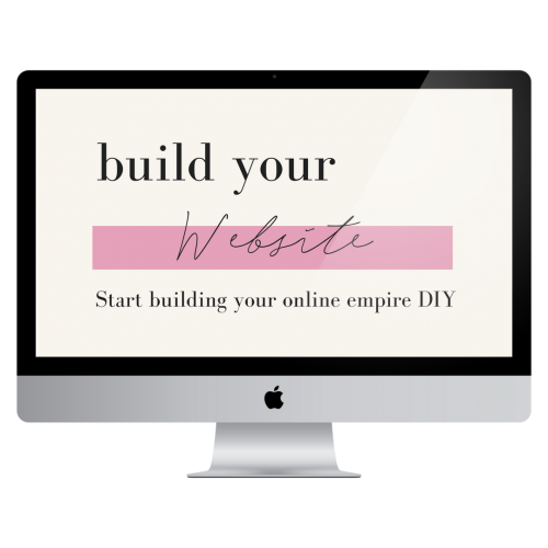 build your website