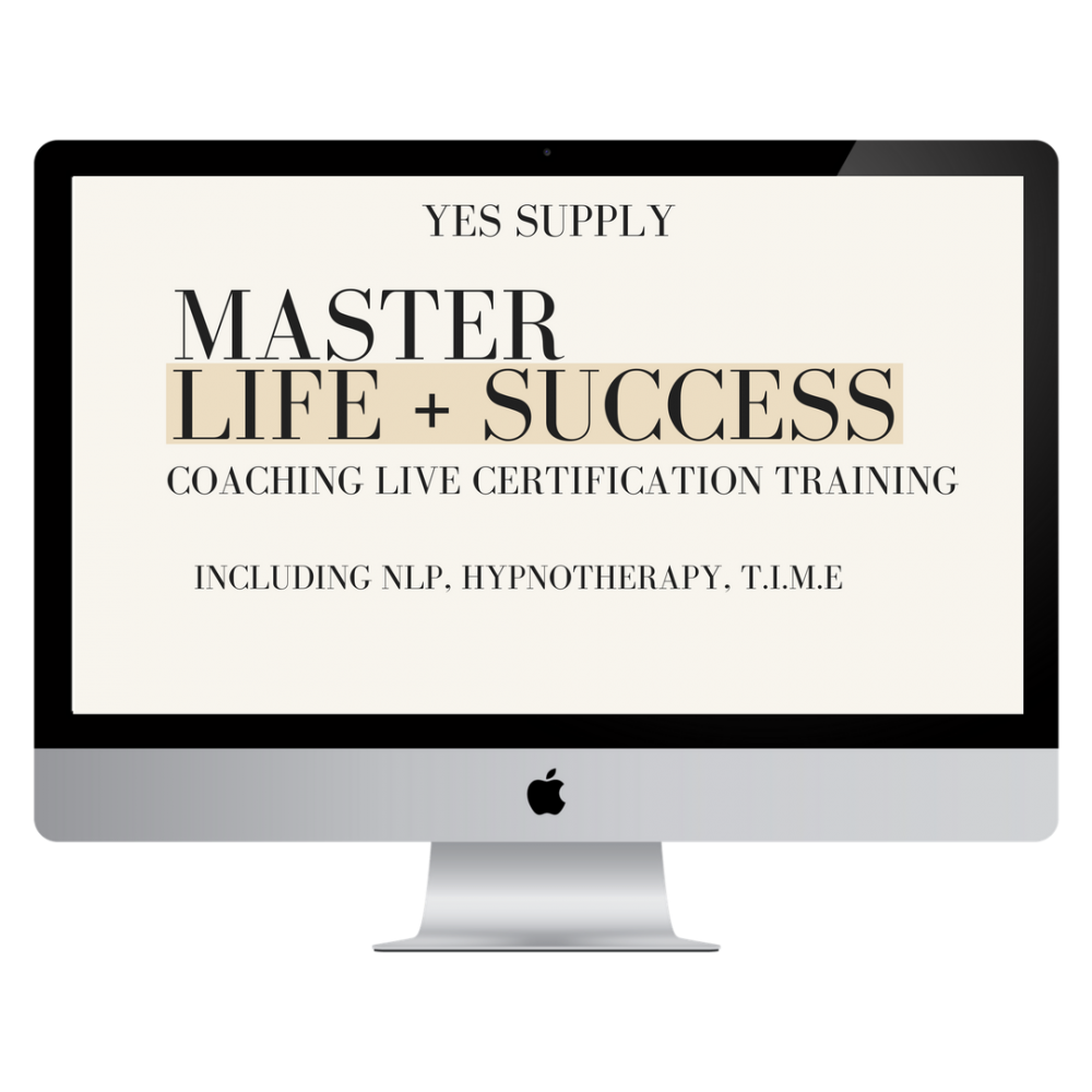 MASTER LIFE AND SUCCESS COACH CERTIFICATION