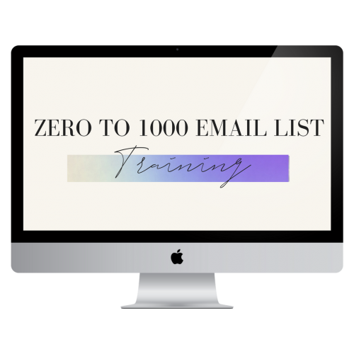 ZERO TO 1000 EMAIL LIST