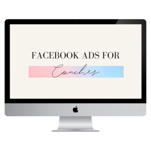 facebook ads for coaches courses