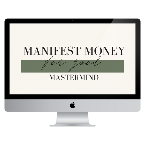 manifest money for good